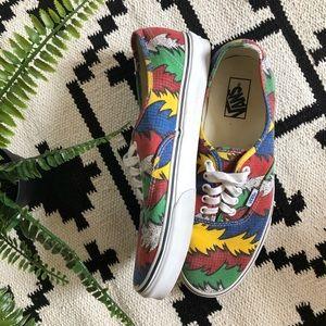 d40c62cf22 Vans Shoes - Van Doren Vans - Dr Seuss Print
